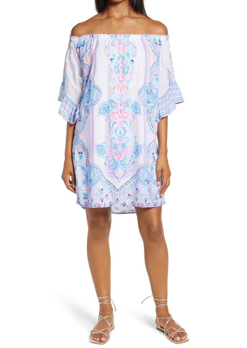 Lilly Pulitzer® Fawna Off the Shoulder Dress