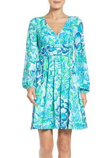Lilly Pulitzer® Fleur Fit & Flare Dress