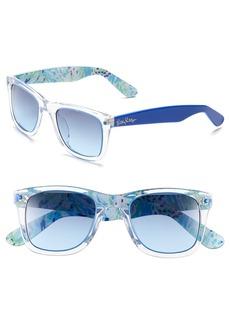 Lilly Pulitzer® 'Gabby' 49mm Retro Sunglasses
