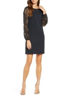 Lilly Pulitzer® Gali Lace Long Sleeve Shift Dress