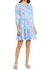 Lilly Pulitzer® Geanna Print Long Sleeve Dress
