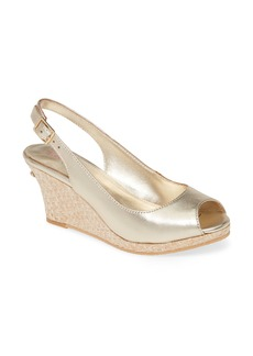 Lilly Pulitzer® Gigi Slingback Wedge Sandal (Women)