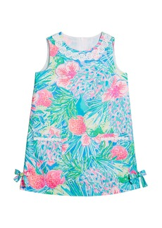 Lilly Pulitzer Girl's Little Lilly Sleeveless Shift Dress  Size 2-10