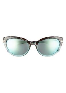 Lilly Pulitzer® Halona 55mm Polarized Cat Eye Sunglasses
