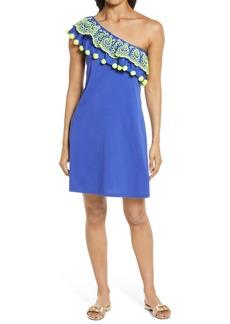 Lilly Pulitzer® Idara One-Shoulder Ruffle Dress