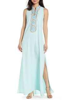 Lilly Pulitzer® Jane Embroidered Maxi Dress