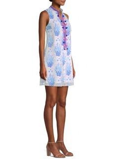 Lilly Pulitzer Jane Printed Lace Shift Dress