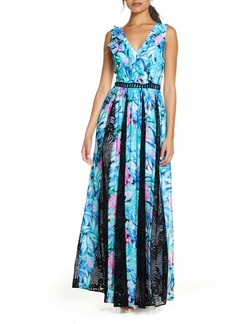 Lilly Pulitzer® Janette Fit & Flare Maxi Dress