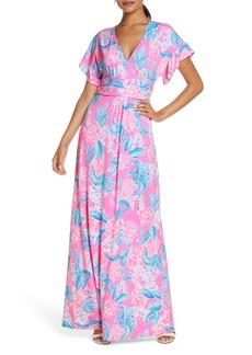Lilly Pulitzer® Jessi Flutter Maxi Dress