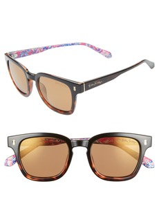 Lilly Pulitzer® Josie 48mm Rectangular Sunglasses