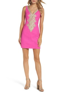 Lilly Pulitzer® Junie Embroidered Sheath Dress