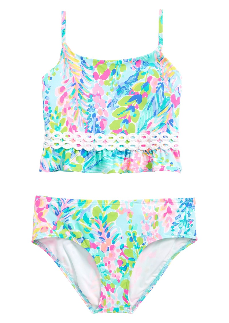 9af5b20394 Lilly Pulitzer® Katrina Two-Piece Swimsuit (Toddler Girls, Little Girls &  Big