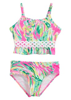 Lilly Pulitzer Katrina Two-Piece Swimsuit (Toddler Girls, Little Girls & Big Girls)