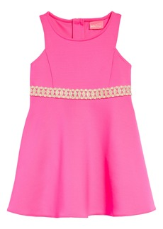 Lilly Pulitzer® Kids' Addyson Lace Trim Fit & Flare Dress (Toddler, Little Girl & Big Girl)