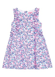 Lilly Pulitzer® Kids' Amia Floral Fit & Flare Dress (Toddler, Little Girl & Big Girl)