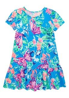 Lilly Pulitzer® Kids' Emina Drop Waist T-Shirt Dress (Toddler, Little Girl & Big Girl)