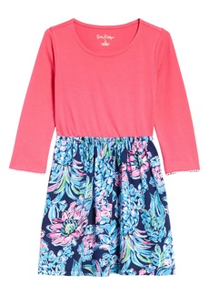 Lilly Pulitzer® Kids' Gianna Long Sleeve Dress (Toddler, Little Girl & Big Girl)