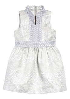 Lilly Pulitzer® Kids' Mini Franci Metallic Jacquard Dress (Toddler, Little Girl & Big Girl)
