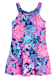 Lilly Pulitzer® Kids' Mini Loro Print Dress (Toddler, Little Girl & Big Girl)