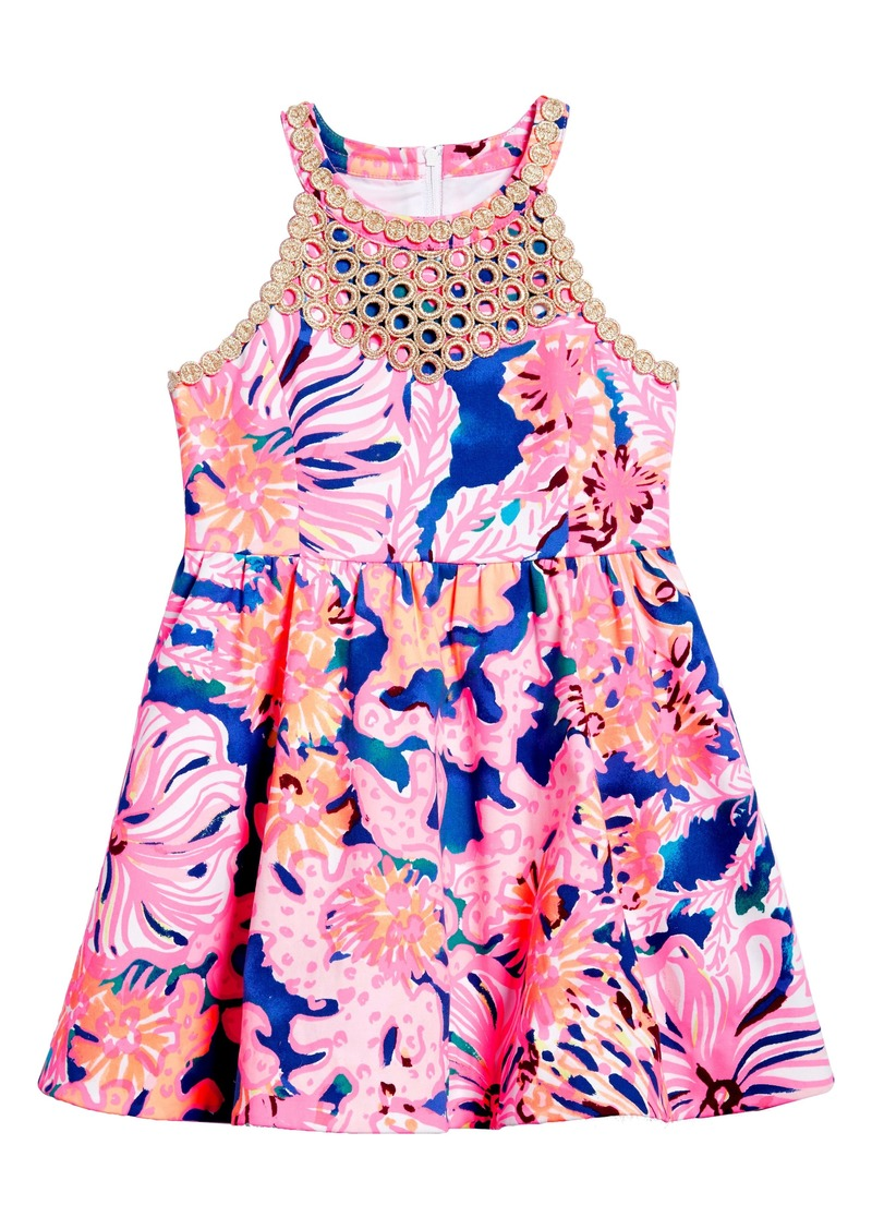 aaf29ae2e219 Lilly Pulitzer Lilly Pulitzer Kinley Fit   Flare Dress (Toddler ...