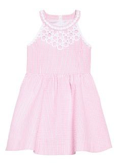 Lilly Pulitzer® Kinley Fit & Flare Dress (Toddler Girls, Little Girls & Big Girls)