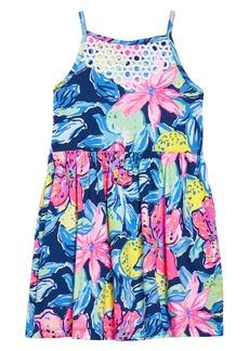 Lilly Pulitzer® Kinley Halter Dress (Toddler Girls, Little Girls & Big Girls)