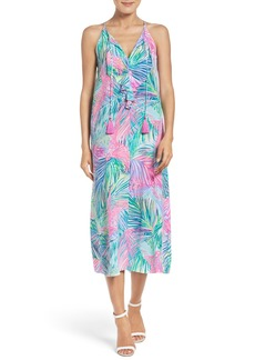 Lilly Pulitzer® Lachelle Silk Midi Dress