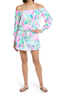 Lilly Pulitzer® Lana Long Sleeve Off the Shoulder Romper