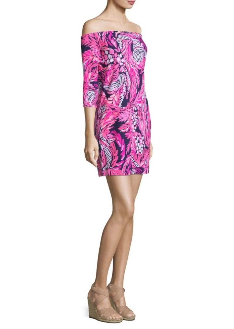 0f582810cdf62e On Sale today! Lilly Pulitzer Laurana Off-The-Shoulder Dress