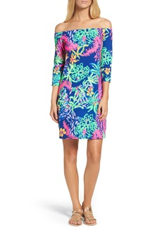 Lilly Pulitzer® Laurana Off the Shoulder Shift Dress