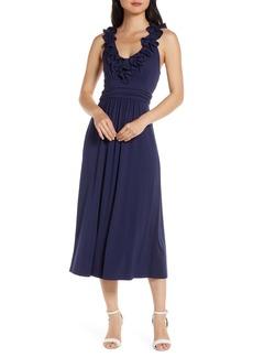 Lilly Pulitzer® Leena Ruffle Midi Dress