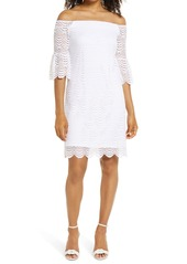 Lilly Pulitzer® Lexa Scalloped Lace Off the Shoulder Dress