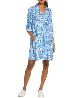 Lilly Pulitzer® Lillith Long Sleeve Shirtdress