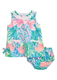 Lilly Pulitzer® Lilly Sleeveless Shift Dress (Baby)