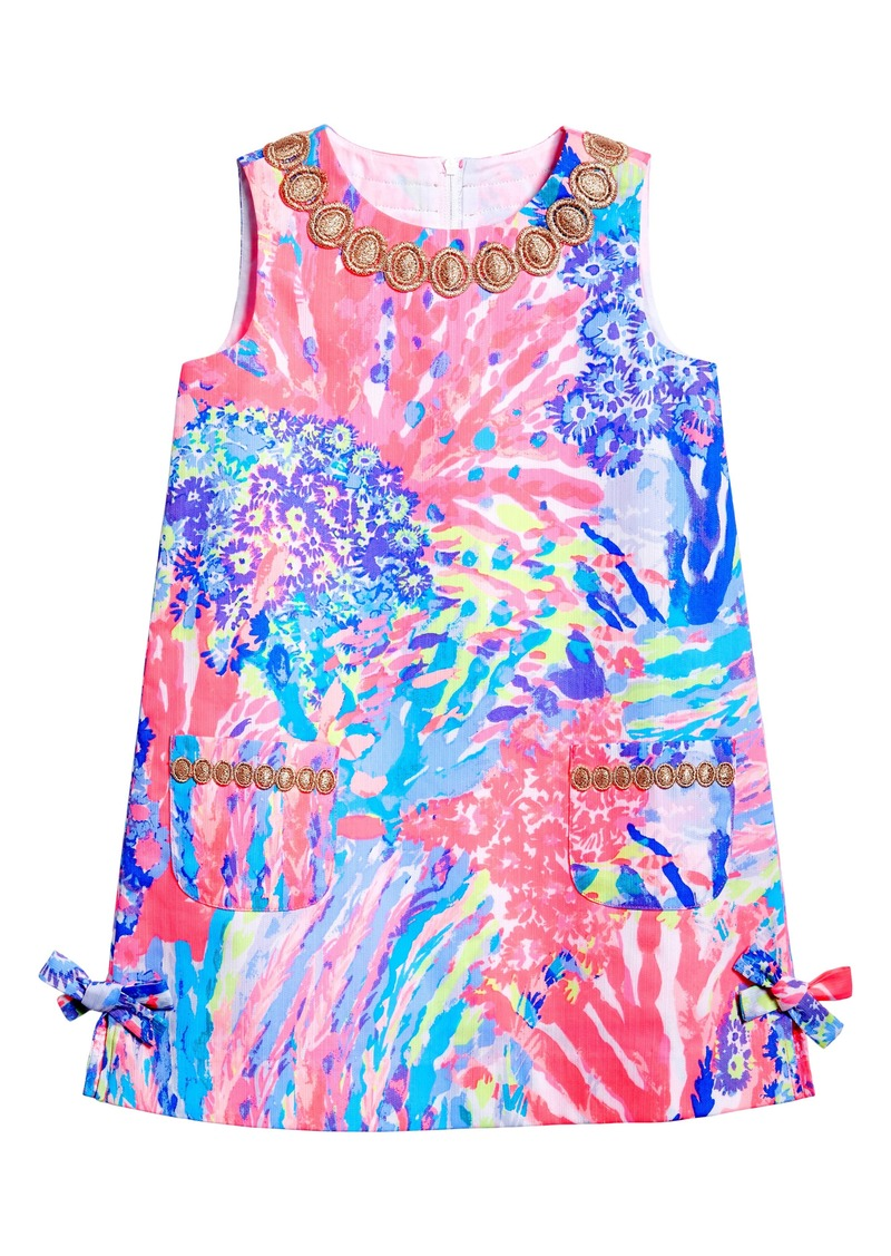 479cc7092c0648 Lilly Pulitzer® Little Lilly Shift Dress (Toddler Girls, Little Girls & Big  Girls