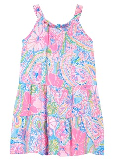 Lilly Pulitzer® Loro Print Dress (Toddler, Little Girl & Big Girl)