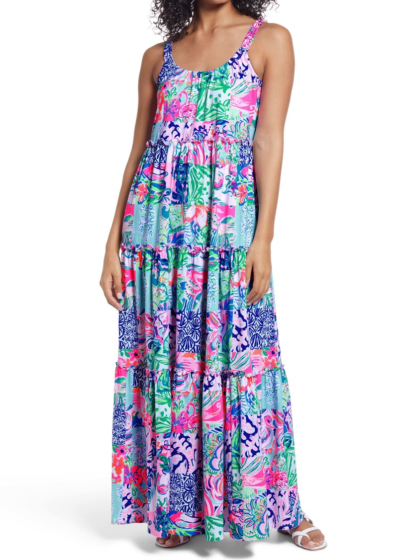 Lilly Pulitzer® Loro Tiered Maxi Dress