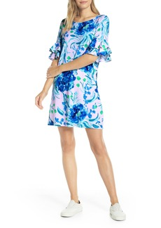Lilly Pulitzer® Lula Ruffle Sleeve Shift Dress