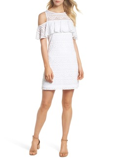 Lilly Pulitzer® Lyra Cold Shoulder Lace Dress