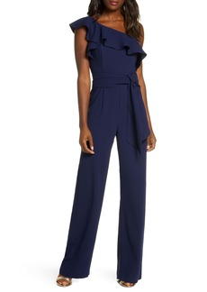 Lilly Pulitzer® Lyra Ruffle One-Shoulder Jumpsuit