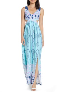 Lilly Pulitzer® Marcia Cutout Maxi Dress