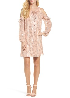 Lilly Pulitzer® Marlyse Cold Shoulder Silk Dress