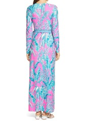 Lilly Pulitzer® Marseilles Long Sleeve Wrap Dress