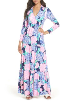 Lilly Pulitzer® Martinique Long Sleeve Maxi Dress