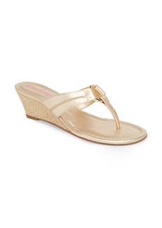 Lilly Pulitzer® McKim Wedge Sandal (Women)