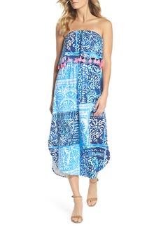 Lilly Pulitzer® Meridian Strapless Midi Dress