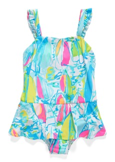 Lilly Pulitzer® Mindy One-Piece Swimsuit (Toddler Girls, Little Girls & Big Girls)
