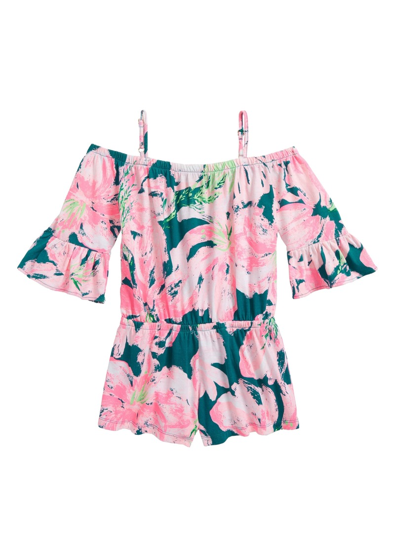 4c3c354e4 Lilly Pulitzer Lilly Pulitzer® Mini Calla Off the Shoulder Romper ...
