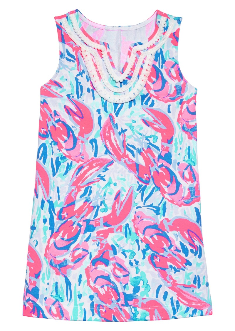 3520ddccea1423 Lilly Pulitzer® Mini Harper Shift Dress (Toddler Girls, Little Girls & Big  Girls