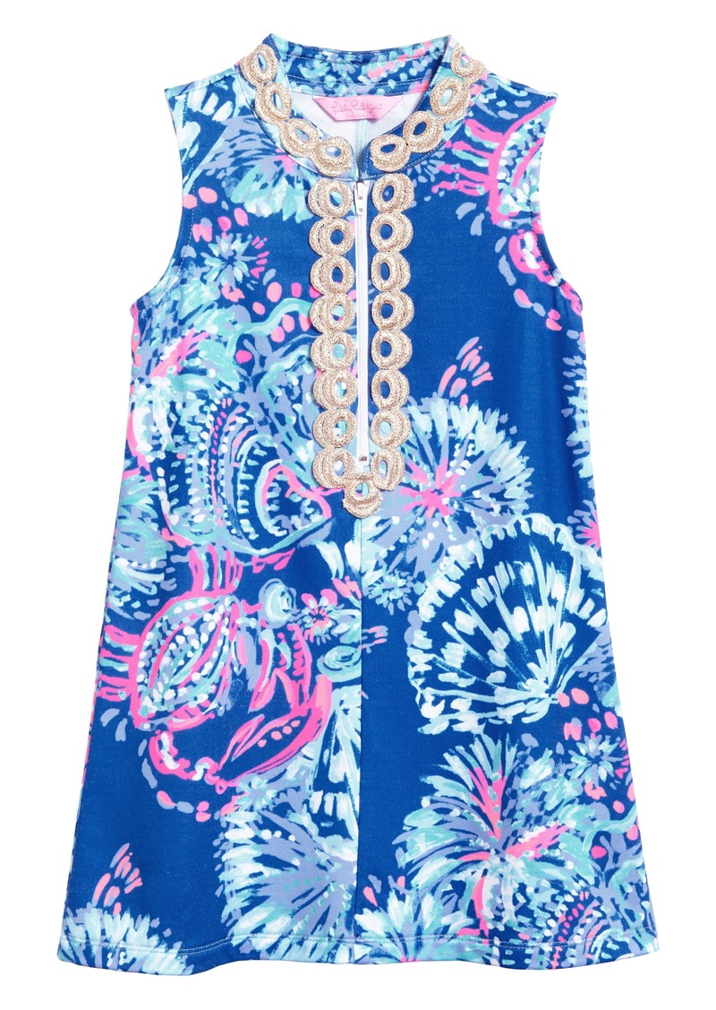 a134081388843a Lilly Pulitzer® Mini Jane Shift Dress (Toddler Girls, Little Girls & Big  Girls